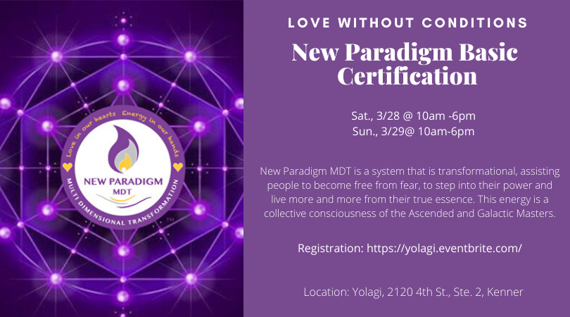 New Paradigm MDT Basic Master Certification