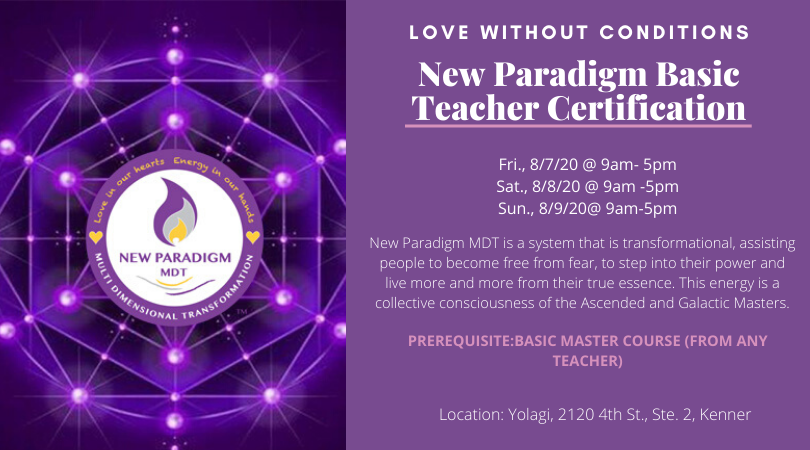 New Paradigm Basic Teacher Class